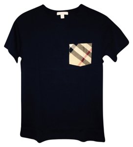 Burberry Boys Boys Size 14 Boys T Shirt Navy