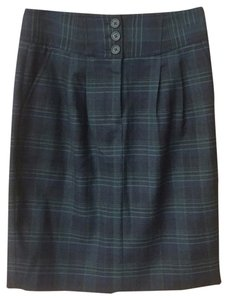 J.Crew Skirt Blue/green