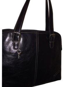 Fossil Stitching Leather Tote