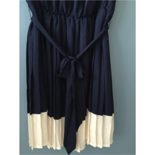 French Connection short dress Navy Blue and off White on Tradesy