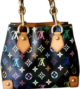 Louis Vuitton Multicolore Neverfull Chanel Speedy Satchel in Multicolore Black