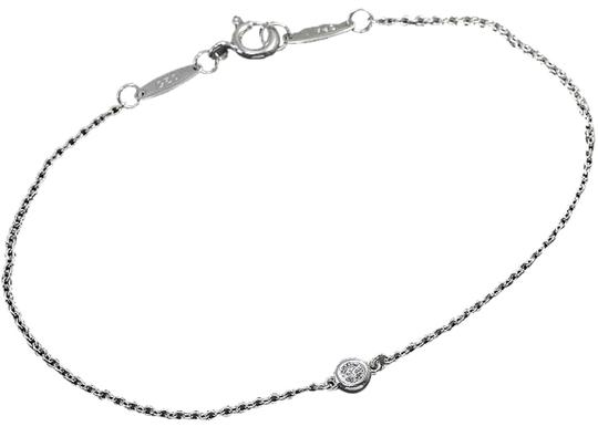 Tiffany & Co. Authentic Tiffany & Co. Diamonds By The Yard Sterling Silver 1P Bracelet