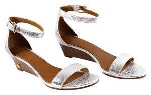 Tory Burch Silver Sandals