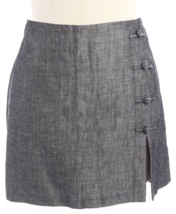 Laundry by Shelli Segal Mini Skirt Grey