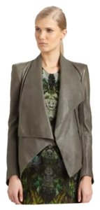Helmut Lang Charcoal Leather Jacket