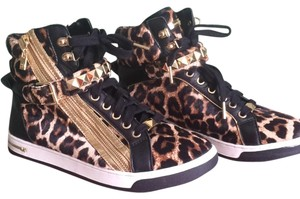 Michael Kors Black/ leopard Athletic