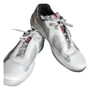 Prada Grey/white Athletic