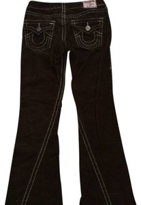 True Religion Corduroy Flare Pants Brown