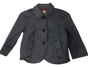 Ann Taylor LOFT Denim, blue Womens Jean Jacket