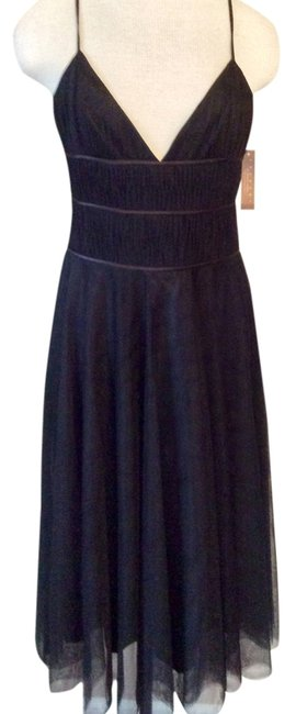 Laundry by Shelli Segal Romantic Gothic Bridesmaid Lbd Wedding Dress