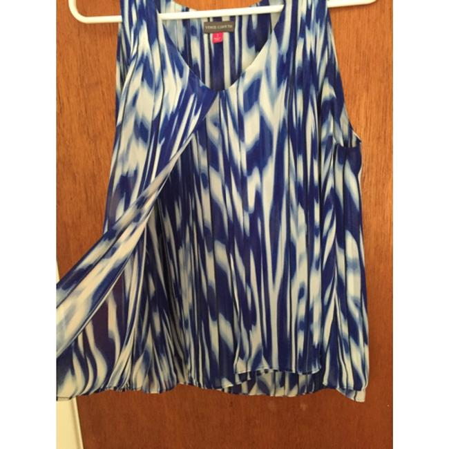 Vince Camuto Top Blue/white
