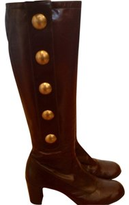 Marc Jacobs Burgundy Boots