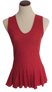 Rachel Roy Top Red orange
