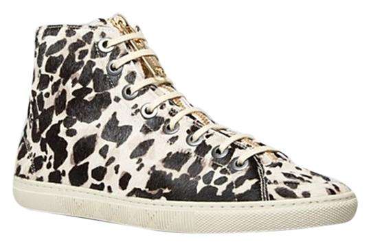 Burberry Sneakers Penford High Top Sneaker Animal Print Boots