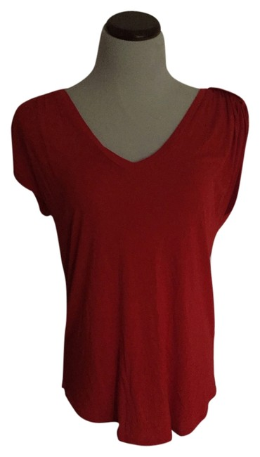 Vince Camuto Top Red orange