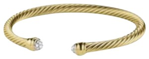 David Yurman David Yurman 18k Yellow Gold Diamond Cable Classics