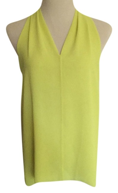 Preload https://item2.tradesy.com/images/vince-camuto-yellow-chiffon-blouse-size-8-m-5629756-0-0.jpg?width=400&height=650