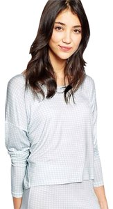 Vero Moda Asos Top gingham blue and white