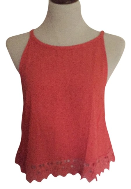 Preload https://item2.tradesy.com/images/salmon-pink-embroidered-crochet-bottom-halter-blouse-size-8-m-5630266-0-0.jpg?width=400&height=650