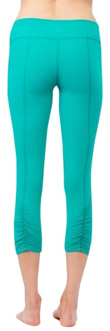 Item - Soft Lilac Back Gathered Legging By In Activewear Bottoms Size 8 (M, 29, 30)