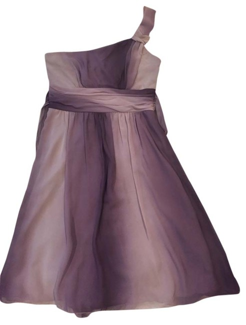 Teeze Me short dress Purple Wedding Guest Lavender Ombre One on Tradesy