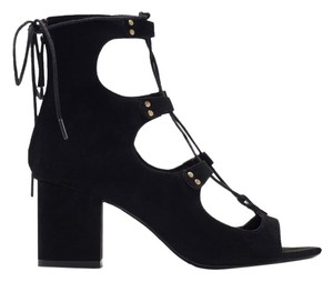 08f298dfe36 Zara Leather with Methacrylate Heel Sandals.  80.50. US 8. Sold Out. Zara  Black Sandals