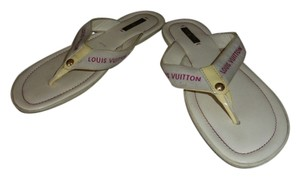 Louis Vuitton OFF WHITE Sandals
