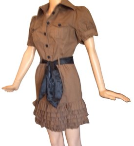 2b bebe short dress Brown on Tradesy