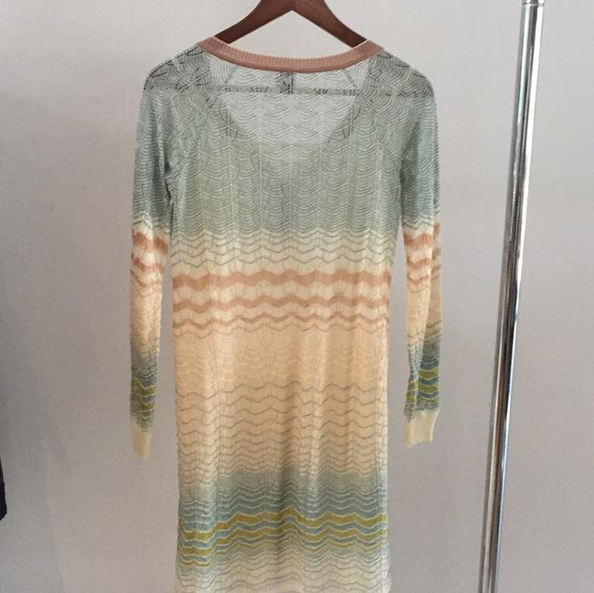 M Missoni short dress Creme, mauve, green on Tradesy