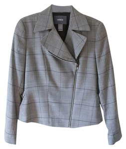 Mexx Houndstooth & Stripes, Tan & Black Blazer