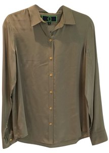 C. Wonder Button Down Shirt Green