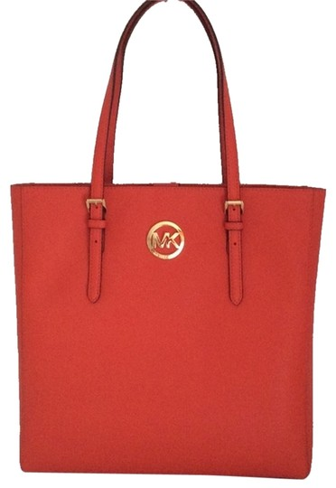Michael Kors New With Tags Saffiano Tote in Orange