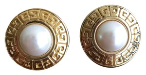 Givenchy Givenchy Vintage Gold Pearl Earrings