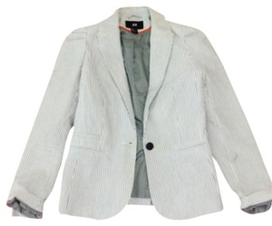 H&M Blue/white Blazer