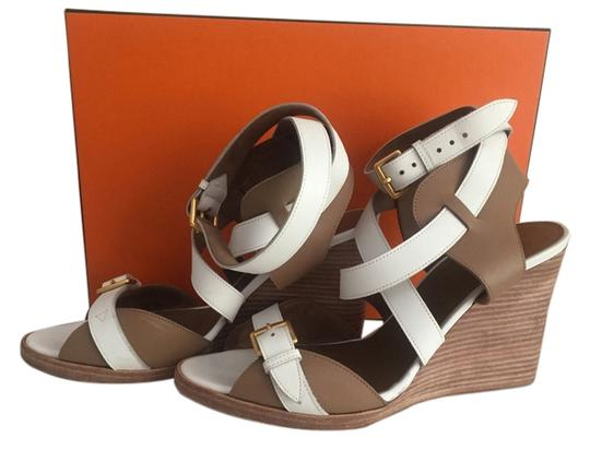 Preload https://item4.tradesy.com/images/hermes-giorno-sandals-wedges-size-us-7-5632558-0-0.jpg?width=440&height=440