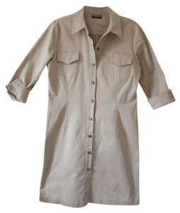 New York & Company short dress Nude Shirt on Tradesy