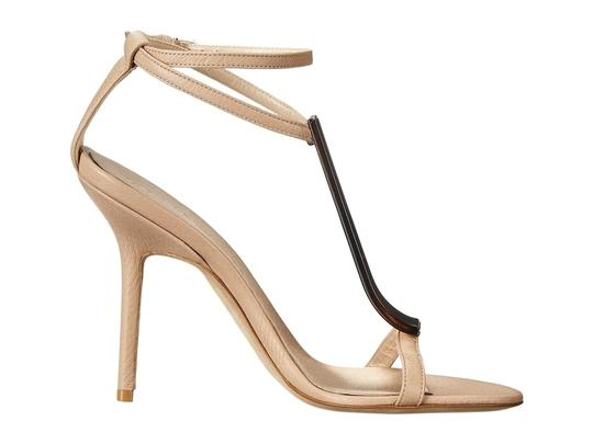 Burberry Irvington Horn Knot Capsule 100mm Nude Sandals