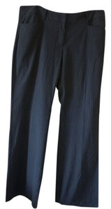 Michael Kors Stripes Wide Leg Pants Black