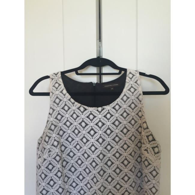 Collective Clothing short dress White and black on Tradesy