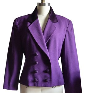 Dior Christian Top VINTAGE Purple Jacket