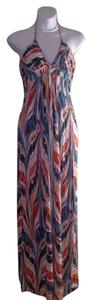 Maxi Dress by Tags Print Maxi Halter