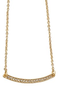 Lia Sophia NEW Lia Sophia Elegant Delicate Crystal And Gold Necklace To Wear Everyday - Adjustable Length.