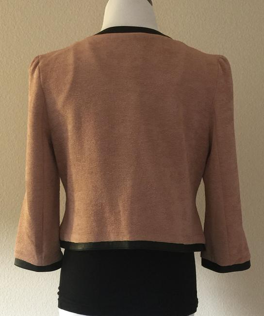 Tulle Cropped Rose Dust Blazer