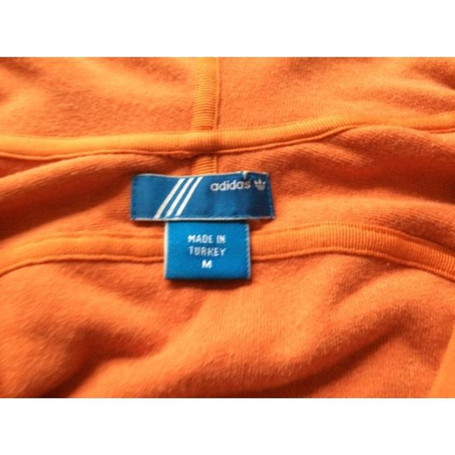 adidas Terry Hooded 3/4 Sleeve Zip-Up