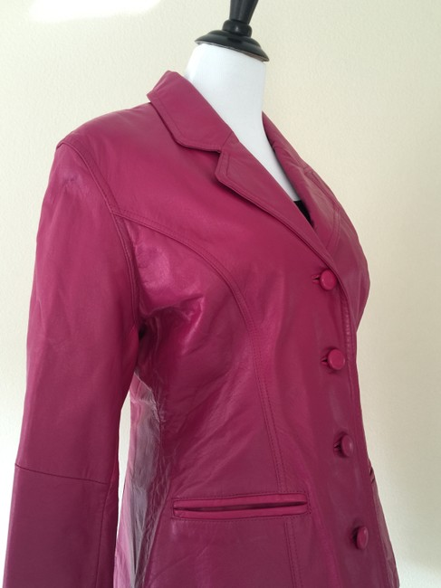 Tannery West Pink Leather Jacket