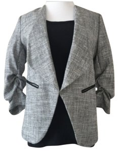H&M Textured Gray Blazer