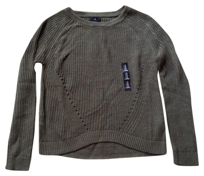 Preload https://item3.tradesy.com/images/gap-dusty-olive-crew-neck-knit-cotton-sweaterpullover-size-8-m-5634562-0-0.jpg?width=400&height=650