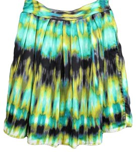 Worthington Pleated Skirt GREEN
