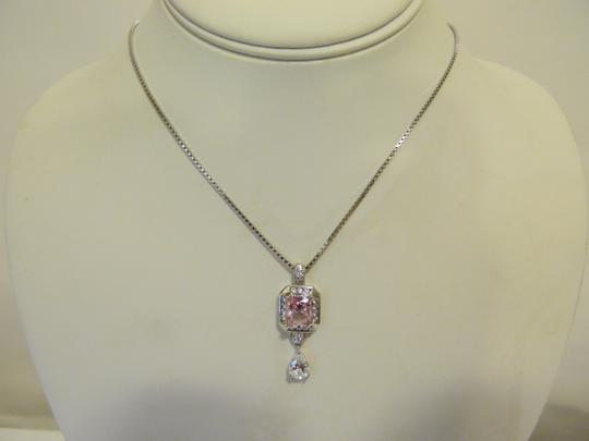 Victoria Wieck Victoria Wieck Pink and Clear Absolute .925 Pendant w/Chain