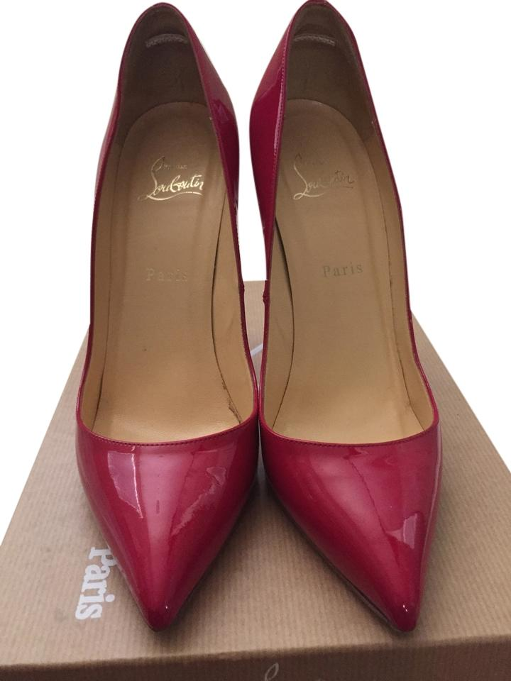 Christian 120 Louboutin Hot Pink Pigalle 120 Christian Fluo Chic Pumps aa11e6